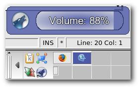 amarok Volume